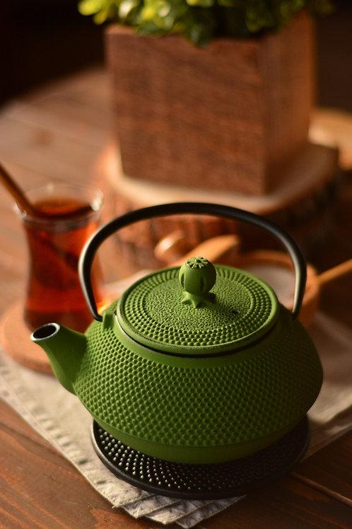 Taşev Linden - Sümbül 800 ml -Casting Teapot
