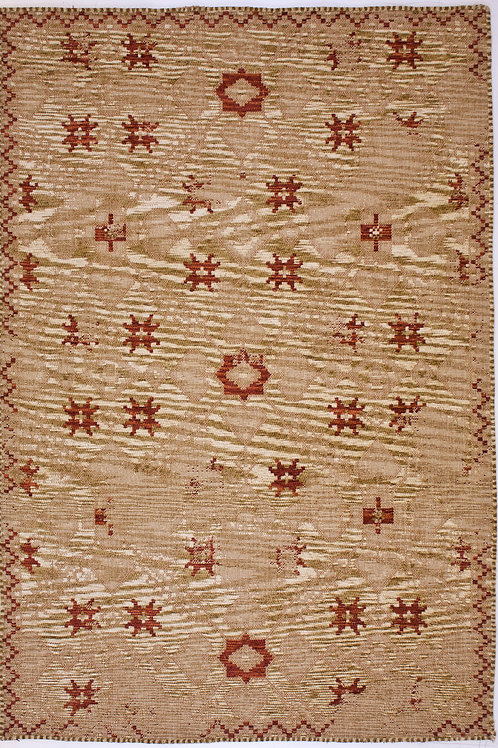 3K Carpet Back to Home Avangard 36015A Gold/Terra