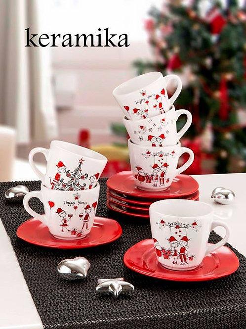 12 Pcs Tea Set