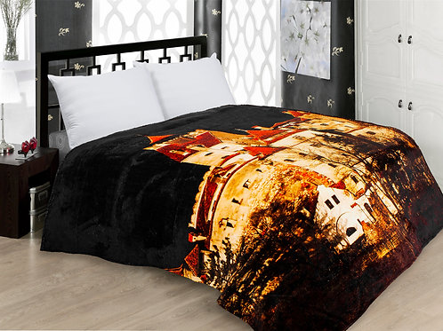 Digital Printing Fleece Blanket 180x210 Cm