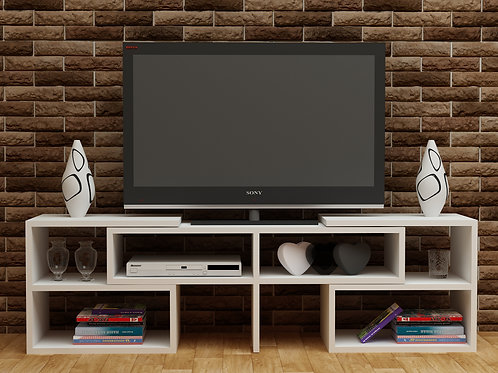 Care Tv Stand Whıte