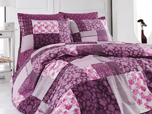 Cotton Duvet Sets-Patchwork V4