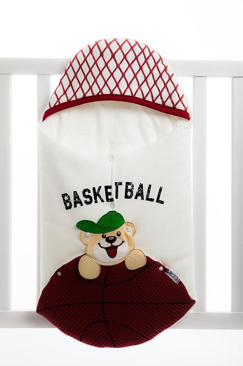 Bebecix Basketball Embr. Swaddle 4517