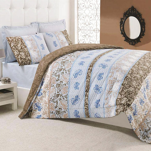 Four Seasons Capitone Quilt Set 220x230 Cm (Tr)