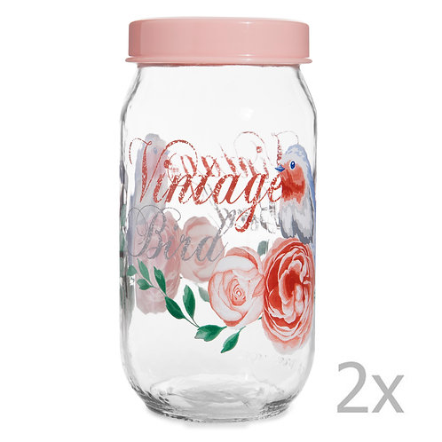 2  Pcs. Jar