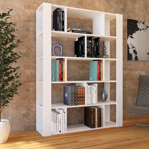 Akora Bookcase Whıte