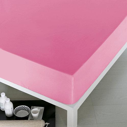 Home De Bleu Rnfrc Fitted Sheet 100x200 - Pink