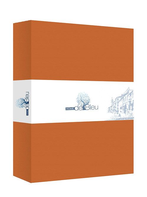 Home de Blue Fitted Sheet 100x200 Cm Orange(2 Pcs)