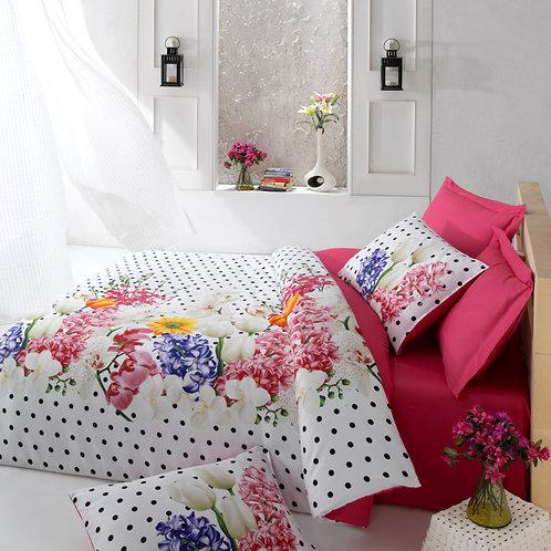 Clasy Cotton Duvet Sets - Yadigar Lilac