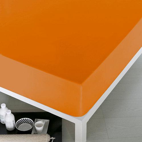 Home de Blue Fitted Sheet 100x200 Cm -(Pak) Orange