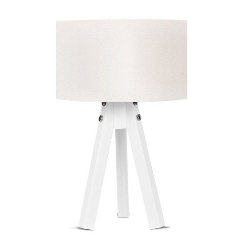 Royal Tripod Lampshade - White