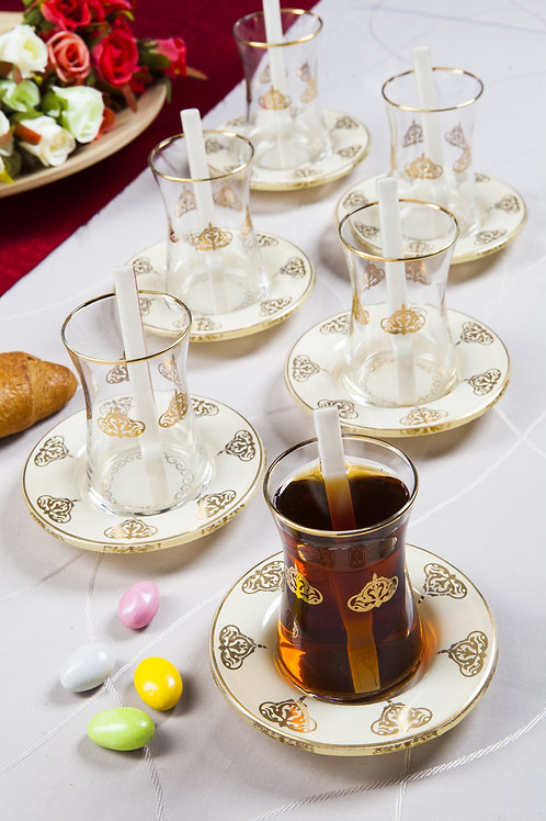 18 Pcs. Tea Set