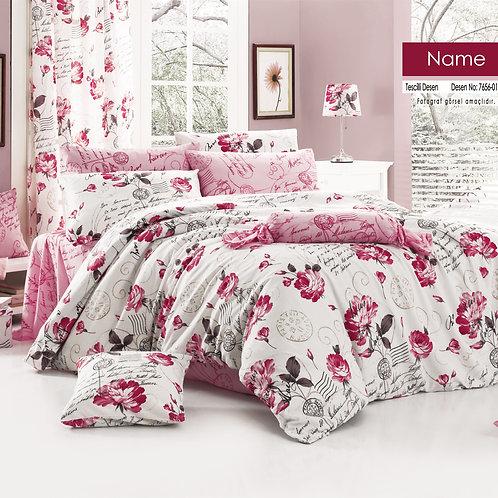 Clasy Cotton Duvet Sets - Name V01
