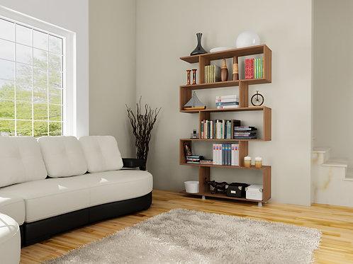 Bestline Nilüfer Bookcase - Walnut