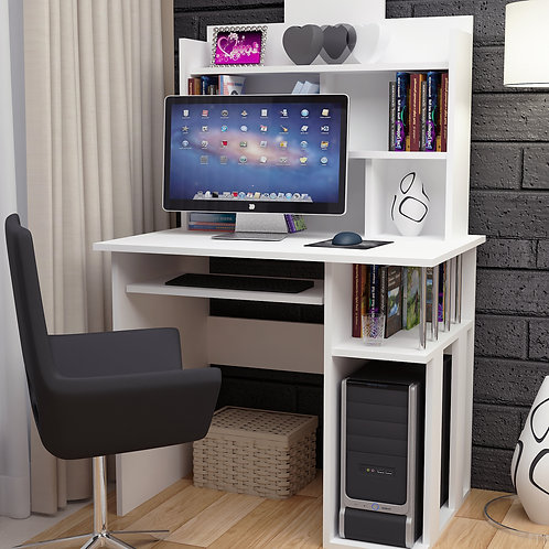 Rose Working Table White