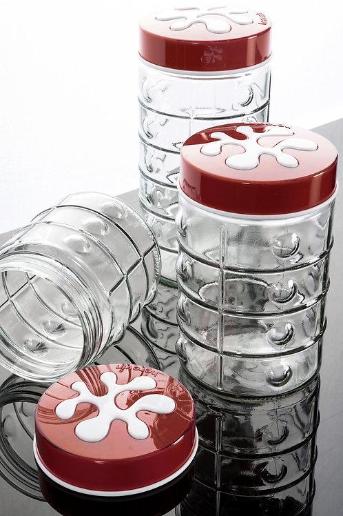 3 Pcs Jar Set