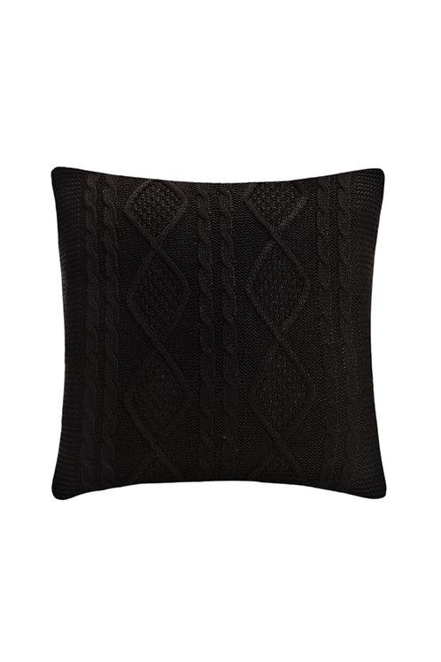 Tricot Pillow - 43x43 Cm - Kosem Dark Brown