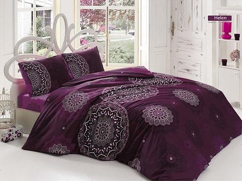 Clasy Cotton Duvet Sets - Helen V05