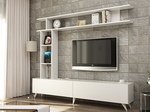 Angel2 Tv Stand Whıte