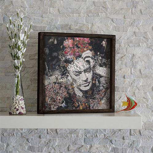 Dekorjinal Uv Printing Painting With Massive Frame Kzm533