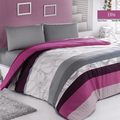 Clasy Cotton Duvet Sets - Elite - V05
