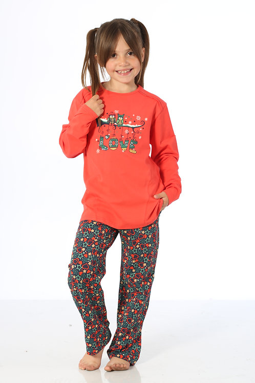 Yuppi Girls Kid Pajamas Set