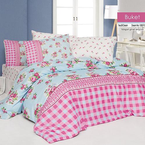 Clasy Cotton Duvet Sets - Buket V4