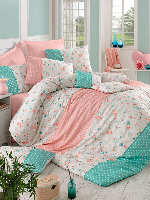 Homedebleu Ranforce Duvet Cover Set 240x220 Cm