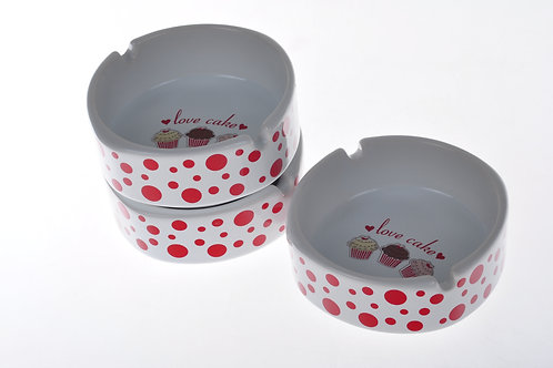 Ashtray 11 Cm 004 FRUIT CAKE