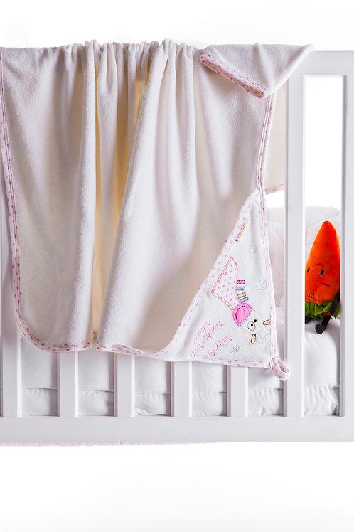 Agucuk Giraffe Embroidered Towel 1187