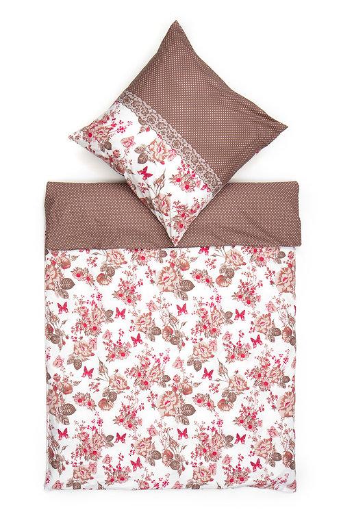 Homedebleu Ranforce Duvet Cover Set 135X200 Cm - B