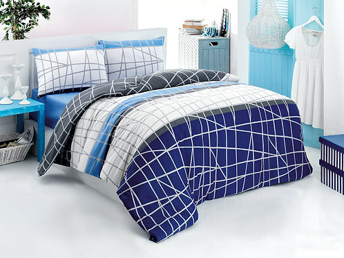 Magenta Home Duvet Cover Set 240x220 Cm