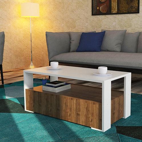 Magenta Home Belinda Coffee Table - White Walnut