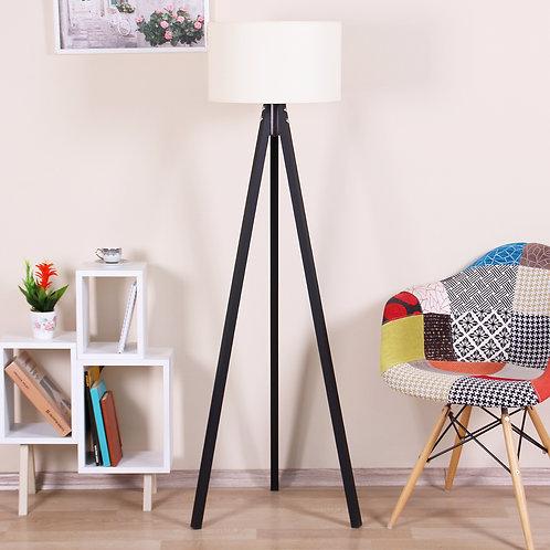 Kate Louise Floor Lamp-Celina  -  Beige / Black
