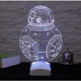 Dekorjinal 3D Lamp (7 Different Color)