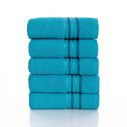 Berra Towel 50x90Cm 9 Pieces - Line Blue
