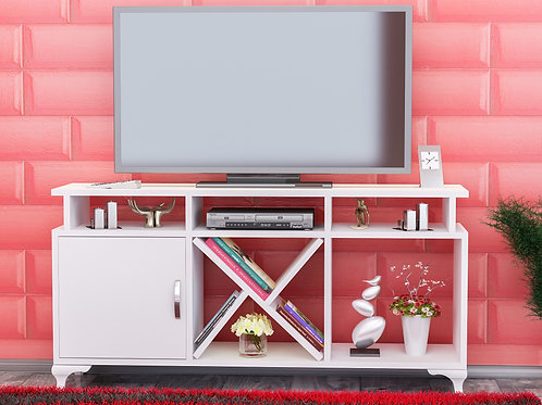 Ay Tv Stand Whıte-Whıte