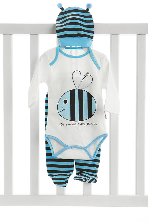 Pearly Bee 3 Pcs. Clothes Set 25759