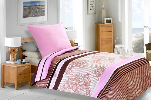 Magenta Ranforce Duvet Cover Set 135X200 Cm - Dian
