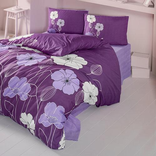 Magenta Home Duvet Cover Set  240x220 Cm + 60x60 Cm
