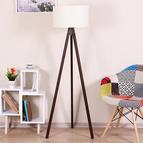 Kate Louise Floor Lamp-Celina -  Beige / Brown