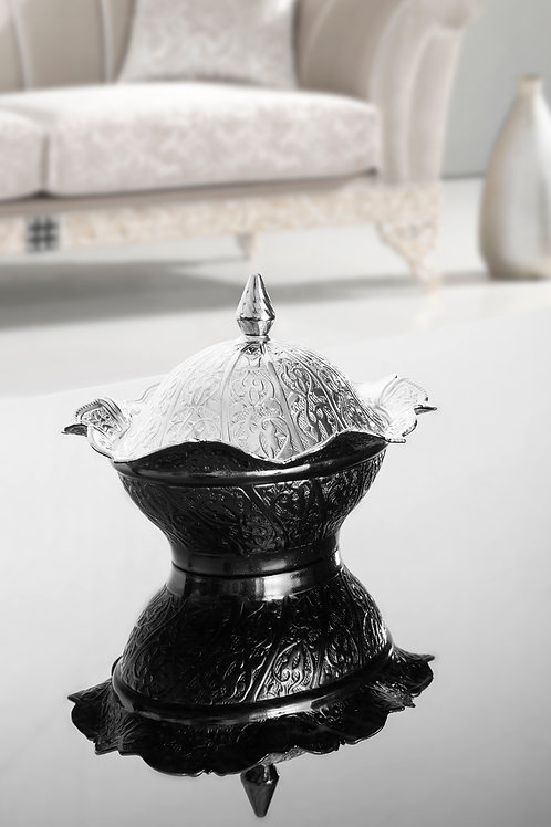 Oval Sugar Bowl With Lid