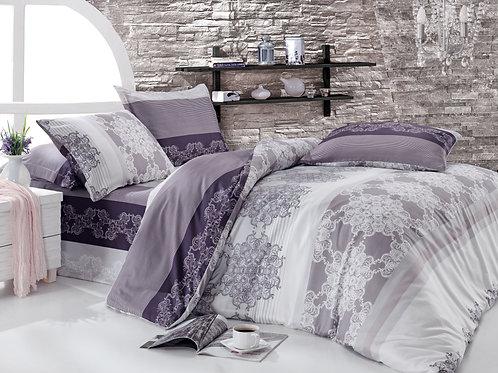Clasy Cotton Duvet Sets - Sureyya Lilac