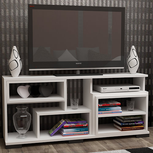 Smile Tv Stand Whıte