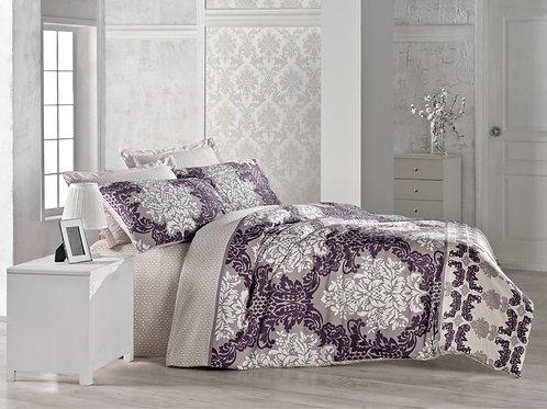 Clasy Cotton Duvet Sets - Aliye Purple