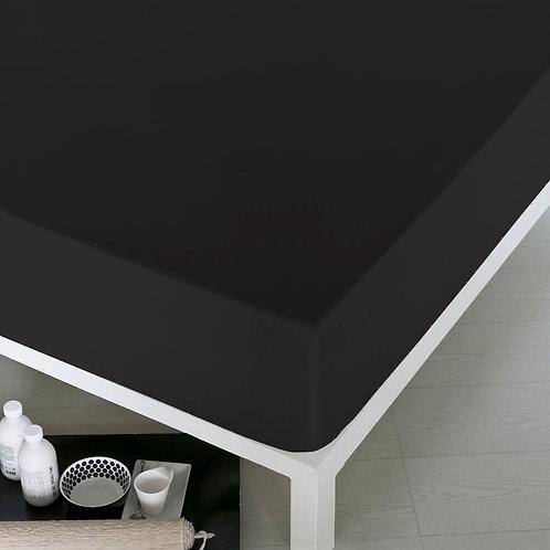 Home de Blue Fitted Sheet 100x200 Cm -(Ak) - Black