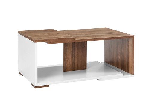 Modern Coffee Coffee Table - white walnut
