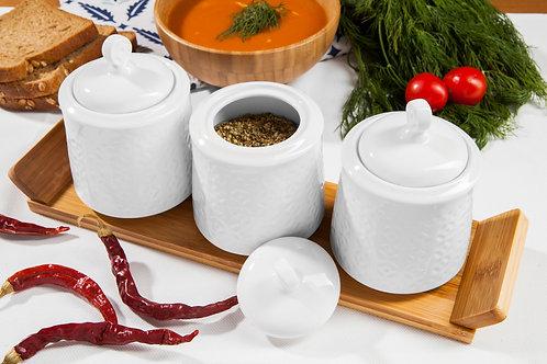 Bambum Helta 3 Pcs. Storage Jar