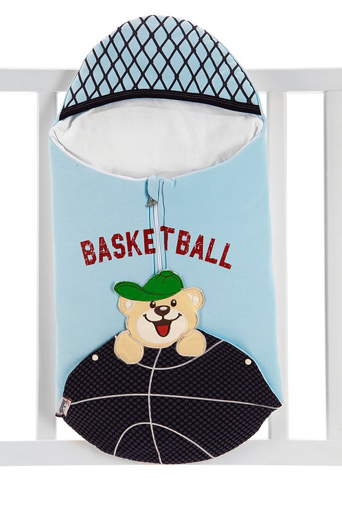 Bebecix Basketball Embr. Swaddle 4517