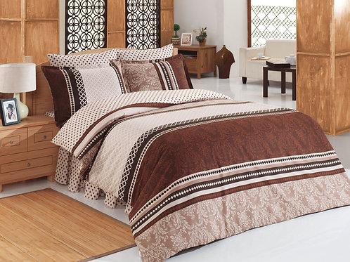 Cotton Duvet Sets-Damask V1